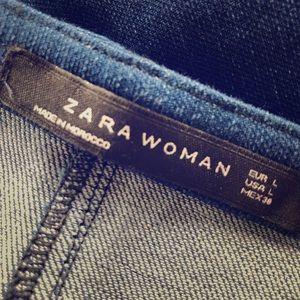 Zara denim skirt